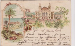 Monte Carlo. SOUVENIR - Unclassified
