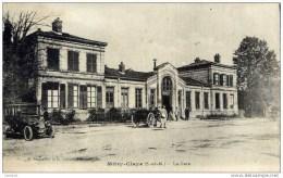 77 MITRY-CLAYE -La Gare  Très Animée-voiture,automobile Ancienne - Mitry Mory