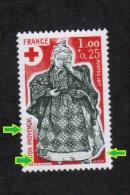 Variétés (**) Neuf  1960 ** Diverses Trainées Noires Provencal B--couleurs **  Variété Croix Rouge Santons - Varieties: 1970-79 Mint/hinged