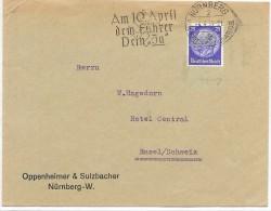 LBL32ALL2- ALLEMAGNE III REICH LETTRE DU 4/4/1938 - Brieven En Documenten