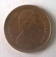 Monnaie - Grande-Bretagne - 1/2 Penny 1971 - Elizabeth II - - 1971-… : Monnaies Décimales