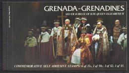 FAMILIAS REALES / GRENADA GRENADINES 1977 #Yvert 194/7**  Precio Cat. €8.00 - Familias Reales