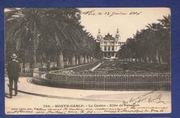 HHH - CPA - MONACO-  789 -   MONTE-CARLO- LE CASINO - ALLEE DE PAMIERS - - Casino