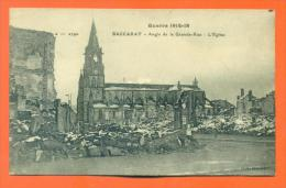 "Dpt 54  Baccarat ""  Angle De La Grande Rue - L'eglise "" - Baccarat"