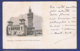HHH - CPA - MONACO- EXPOSITION UNIVERSELLE DE 1900- PAVILLON DE MONACO - - Unclassified