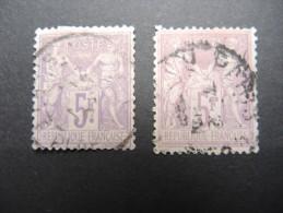 FRANCE - N° Yvert 95 -  2 Exemplaires Avec Nuance - Cote 180 € - A Voir - Lot P13242 - 1876-1898 Sage (Type II)