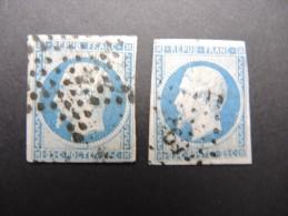 FRANCE - N° Yvert 10 -  2 Exemplaires Dont 1 TTB - Cote 80 € - A Voir - Lot P13243 - 1852 Louis-Napoleon