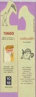 Marque-page °° 1018 - Tingo Filet Papillons - Ohrwurm . Chanson Accrocheuse  Un Ver D'oreille  4x20 - Marque-Pages