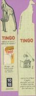 Marque-page °° 1018 - Tingo Kangourou échassier - Vient De L'île De Pâques  4x20 - Marque-Pages