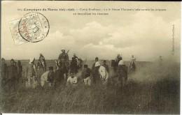 CPA CAMPAGNE DU MAROC Camp Boulhaut Goum Marocain Luttant Contre Les Criquets 12545 - Manoeuvres