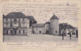 34 CPA Gruss Aus Altkirch - Baisers - Carte Sous Occupation Allemande - Altkirch