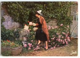 Folklore De Bretagne - Jeune Fille En Costume Du Trégor - écrite Pour Jeu-concours 2 Scans - Tréguier