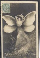 REUTLINGER - Femme Papillon - TBE Précurseur - Ohne Zuordnung