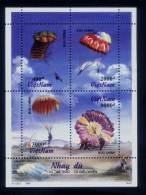 Vietnam Viet Nam MNH Perf Sheetlet 1995 : Parachuting (Ms709) - Vietnam