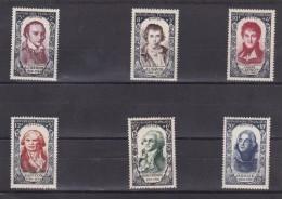 Célébrités Du XVIII E Siecle;Chenier,David,Carnot,Danton,Robespierre,Hoche - Neufs