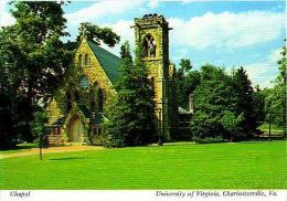 Charlottesville      H72      Chapel. University Of Virginia - Autres