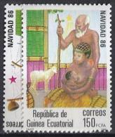GUINEA ECUATORIAL 1986 - Edifil #87/8 - MNH ** - Guinea Ecuatorial