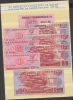 RO) 1988 KOREA, BANKNOTE - WON, CAPITALIST VISITOR FULL SET UNC, ISSUE 1988 YEAR - Bankbiljetten