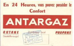 Buvard Antargaz Offert Par Plomberie Zinguerie Chauffage M. Guillon 10, Rue Sadl Carnot Etampes (Seine Et Oise) - Electricité & Gaz