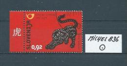 SLOWENIEN MICHEL 836 Gestempelt Siehe Scan - Slovénie