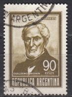 Argentina, 1967 - 90p Guillermo Brown - Nr.828 Usato° - Argentina