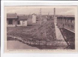 BREBOTTE : Le Pont Du Canal Du Rhone Au Rhin, La Gare Et La Route D'eschene - Tres Bon Etat - France