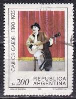 Argentina, 1985 - 200p Carlos Gardel - Nr.1502 Usato° - Argentina