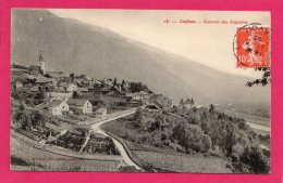 73 SAVOIE CONFLANS COUVENT DES CAPUCINS  Circulée 1909 - Autres Communes