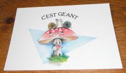Escargot Escargots Champignon C'est Géant - Dieren