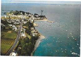 LOCQUIREC  (cpsm 29) La Corniche Et La Pointe Du Château - - Locquirec