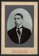 Brèsil Brasil Photo Grand Portrait Ancienne Photographia União Santos 1911 Old Photo Portrait Brazil - Personnes Anonymes