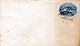 GUATEMALA 1896 - 5 Centavos Ganzsache Mit Überdruck Auf Brief - Guatemala
