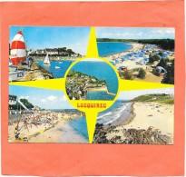 LOCQUIREC  (cpsm 29) Le Port Et Les Plages  -  Multivues - - Locquirec