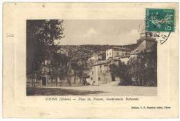 Nyons - Place Du Foussat, Gendarmerie Nationale - Nyons