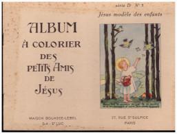 LIVRET : album � colorier des petits amis de J�sus s�rie D album 3 (ill CF) (PPP1743)