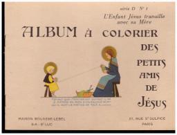 LIVRET : album � colorier des petits amis de J�sus s�rie D album 1 (ill CF) (PPP1744)