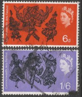 Great Britain. 1965 Commonwealth Arts Festival. Used Complete Set. SG 669-670 - 1952-.... (Elizabeth II)