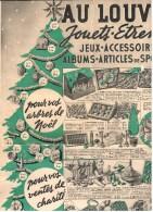 Au Louvre - Jeux Jouets Etrennes - catalogue de d�cembre 1937