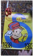 Spirou Album Plus + Dupuis 1938 1983 45 Ans Affiche Poster Franquin Jijé Rob-Vel Robbedoes - Posters