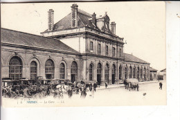 F 08200 SEDAN, La Gare / Bahnhof, / Station, Droschken, Louis Levy # 4, 1941, deutsche Feldpost