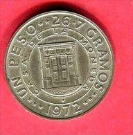 1 PESO 1947-72 ( KM 31  ) TTB 45 - Dominicaanse Republiek
