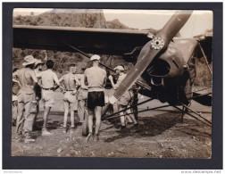 Rare Photo Ancienne - Service Presse Information - Guerre D´ Indochine - Vietnam Laos - Avion Aviation - Guerra, Militares
