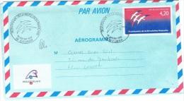 AV-L98 - FRANCE Aérogramme Bicentenaire De La Révolution - Franse Revolutie