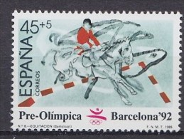 1992 ESPAGNE Spain  ** MNH �quitation horse riding Reiten Pferd H�pica [DK01]