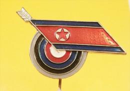 ARCHERY FEDERATION OF NORT KOREA / SHOOTING Bow And Arrow, Tir à L´arc, Schießen Bogenschießen - Tiro Con L'Arco