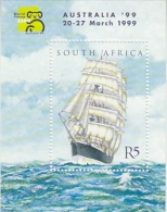 South Africa 1999 Australia ´99 / Sailing Ship M/s ** Mnh (26232G) - Blokken & Velletjes