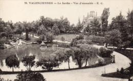 CPA VALENCIENNES - LE JARDIN - VUE D'ENSEMBLE - Valenciennes