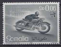 1958 SOMALIE Somalia  ** MNH Motocyclette Cyclomoteur Motorcycle Moped Motorrad Moped Motocicletas Ciclomotores [DK13] - Motorfietsen
