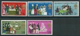 GRANDE-BRETAGNE - N° 586/590  NEUFS**  - - Unused Stamps