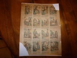 Vers 1900  Imagerie D'Epinal  N° 499   CAPRICE & BON CARACTERE      Imagerie Pellerin - Vieux Papiers